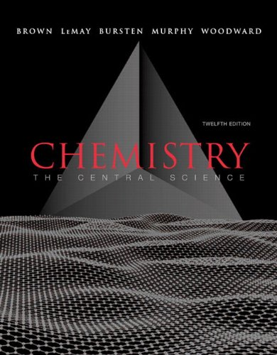 Chemistry: The Central Science with Masteringchemistry [With Masteringchemistry]