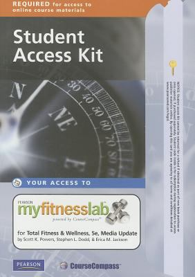 Myfitnesslab Total Fitness & Wellness: Media Update Student Access Kit 9780321742384
