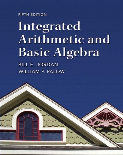 Integrated Arithmetic and Basic Algebra 9780321747389