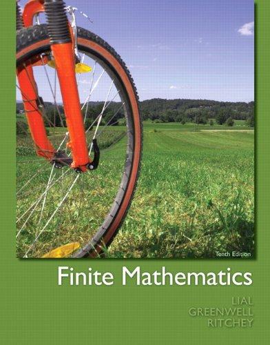 Finite Mathematics 9780321748997