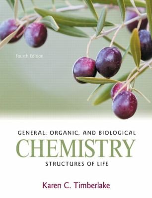 General, Organic, and Biological Chemistry: Structures of Life [With Access Code]
