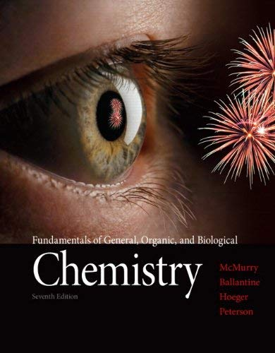 Fundamentals of General, Organic, and Biological Chemistry 9780321750839