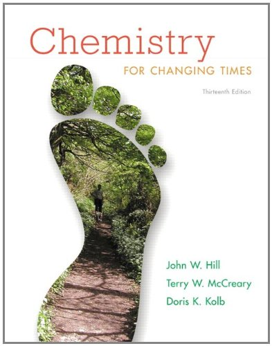 Chemistry for Changing Times 9780321750877