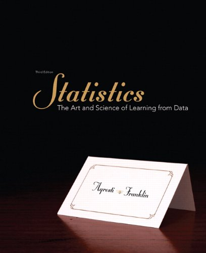 Statistics: The Art and Science of Learning from Data 9780321755940