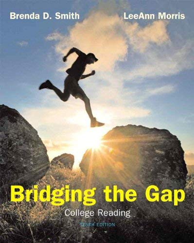 Bridging the Gap (with New Myreadinglab with Pearson Etext Student Access Code Card) 9780321761170
