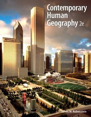Contemporary Human Geography with Mastering Geography Student Access Code Card 9780321768247