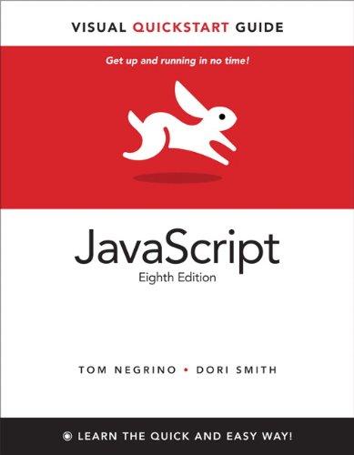 JavaScript: Visual QuickStart Guide 9780321772978