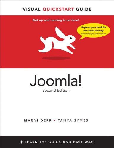 Joomla!: Visual QuickStart Guide 9780321772985