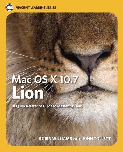 Mac OS X Lion 9780321777010