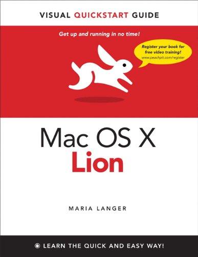 Mac OS X Lion 9780321786739