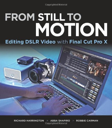 From Still to Motion: Editing Dslr Video with Final Cut Pro X 9780321811257