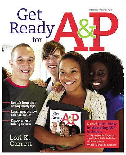 Get Ready for A&P Package [With Access Code] 9780321813367