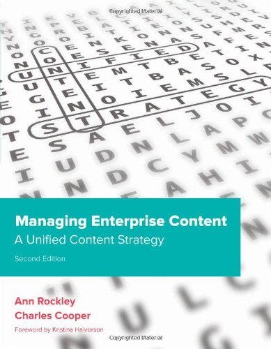 Managing Enterprise Content: A Unified Content Strategy 9780321815361
