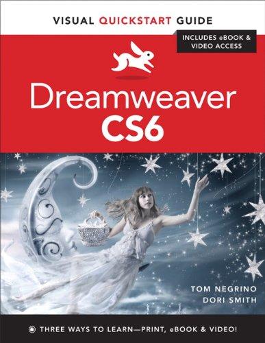 Dreamweaver Cs6: Visual QuickStart Guide 9780321822529