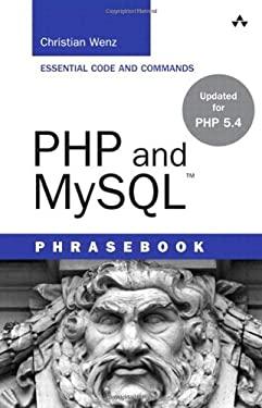 PHP and MySQL Phrasebook 9780321834638