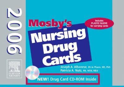 Mosby's 2006 Nursing Drug Cards 9780323036542