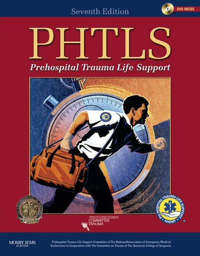 PHTLS: Prehospital Trauma Life Support [With DVD] - 7th Edition
