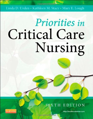 Priorities in Critical Care Nursing 9780323074612