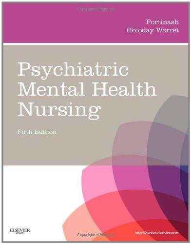 Psychiatric Mental Health Nursing 9780323075725