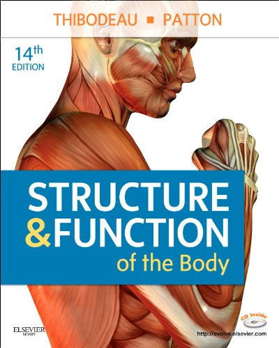 Structure & Function of the Body [With CDROM] 9780323077224
