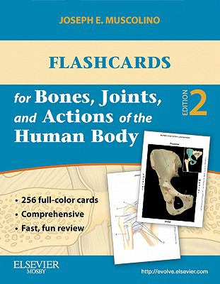 Flashcards for Bones, Joints, and Actions of the Human Body 9780323078252