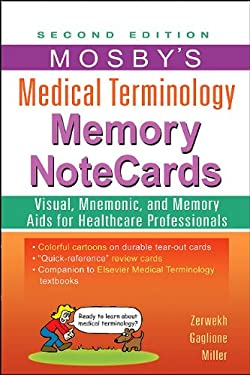 Mosby's Medical Terminology Memory NoteCards 9780323082730