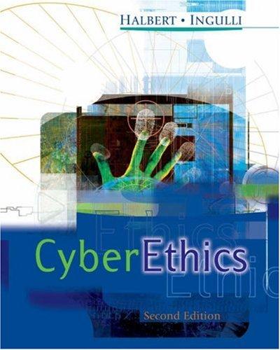 Cyberethics 9780324261059