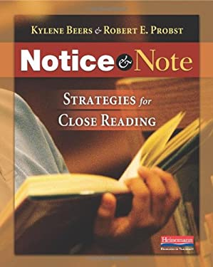 Notice and Note: Strategies for Close Reading 9780325046938
