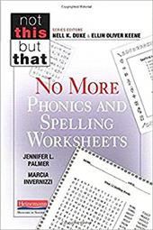 No More Phonics and Spelling Worksheets (Not This But That) 22788865