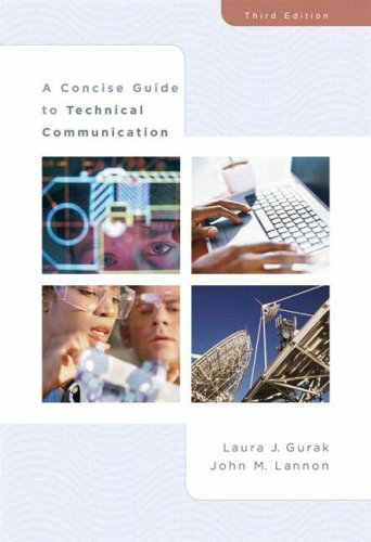 A Concise Guide to Technical Communication 9780321391681