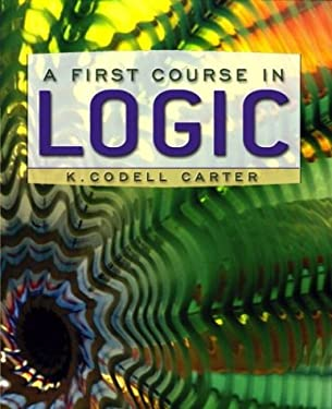 A First Course in Logic 9780321108821