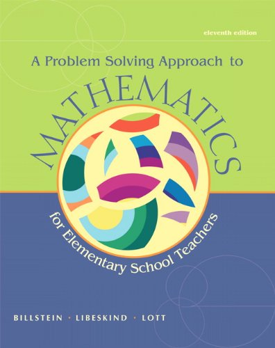 A Problem Solving Approach to Mathematics for Elementary School Teachers [With CDROM] 9780321756664