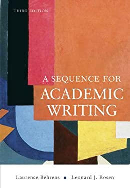 A Sequence for Academic Writing 9780321456816