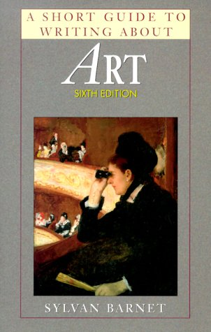 A Short Guide to Writing about Art 9780321046055