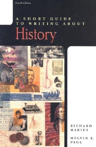A Short Guide to Writing about History 9780321093004