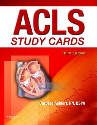 ACLS Study Cards 9780323058100