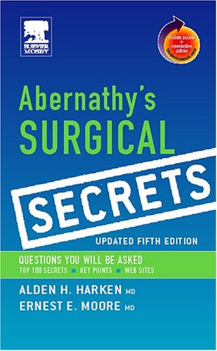 Abernathy's Surgical Secrets, Updated Edition: With Student Consult Online Access 9780323034166
