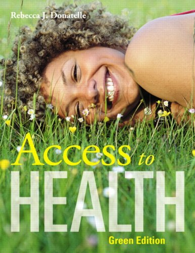 Access to Health 9780321571120