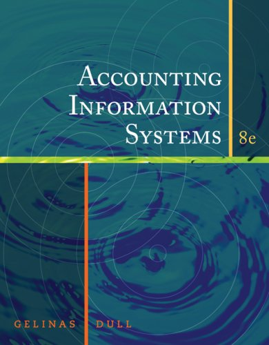 Accounting Information Systems 9780324663808