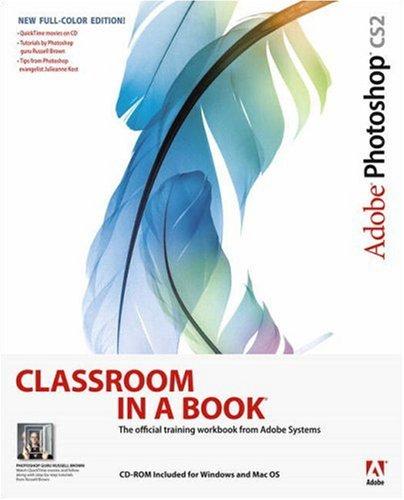 Adobe Photoshop Cs2 Classroom in a Book 9780321321848