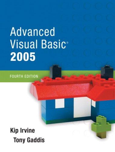 Advanced Visual Basic 2005 [With CDROM] 9780321477125