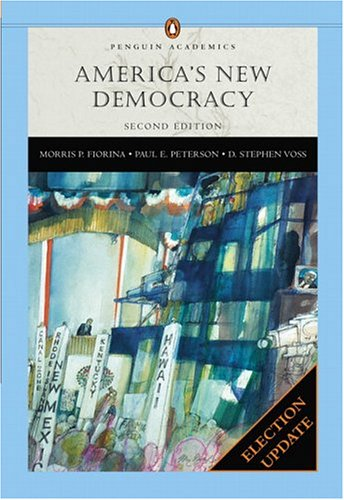 America's New Democracy (Penguin), Election Update 9780321291547