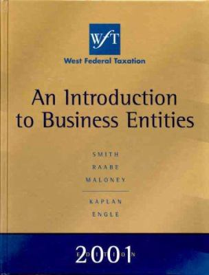 An Introduction to Business Entities 9780324021653