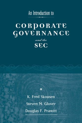 An Introduction to Corporate Governance and the SEC 9780324226980