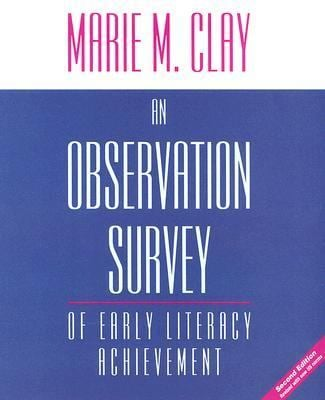 An Observation Survey of Early Literacy Achievement 9780325009292