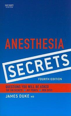 Anesthesia Secrets 9780323065245
