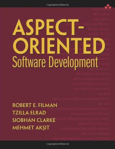 Aspect-Oriented Software Development 9780321219763