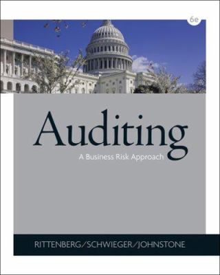 Auditing: A Business Risk Approach [With CD-ROM] 9780324375589