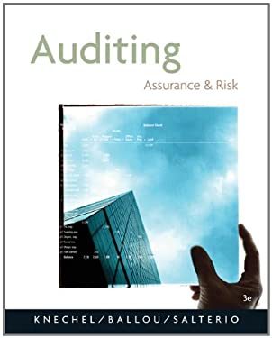 Auditing: Assurance and Risk 9780324313185