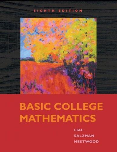 Basic College Mathematics by Elayn Martin-Gay (2014, Binder ready) 5th edition
